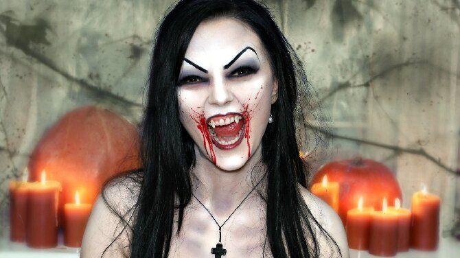 До останньої краплі крові: найкрутіший макіяж вампіра на Геловін, який можна легко зробити вдома — секрети, ідеї, фото 1