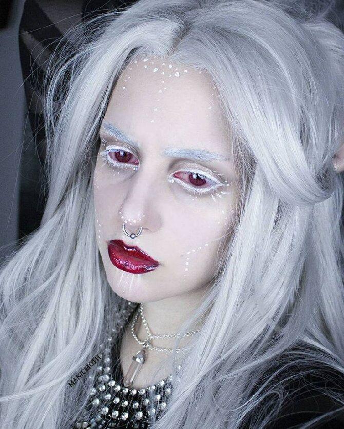 До останньої краплі крові: найкрутіший макіяж вампіра на Геловін, який можна легко зробити вдома — секрети, ідеї, фото 14