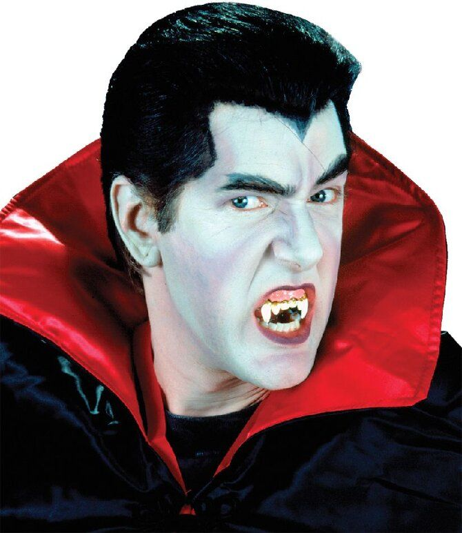 До последней капли крови: самый крутой макияж вампира на Хэллоуин, который можно легко сделать дома – секреты, идеи, фото 21