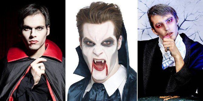 До последней капли крови: самый крутой макияж вампира на Хэллоуин, который можно легко сделать дома – секреты, идеи, фото 22