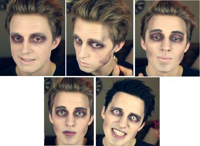 До последней капли крови: самый крутой макияж вампира на Хэллоуин, который можно легко сделать дома – секреты, идеи, фото 23