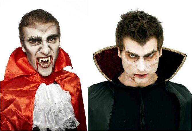 До последней капли крови: самый крутой макияж вампира на Хэллоуин, который можно легко сделать дома – секреты, идеи, фото 26
