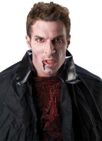 До последней капли крови: самый крутой макияж вампира на Хэллоуин, который можно легко сделать дома – секреты, идеи, фото 28
