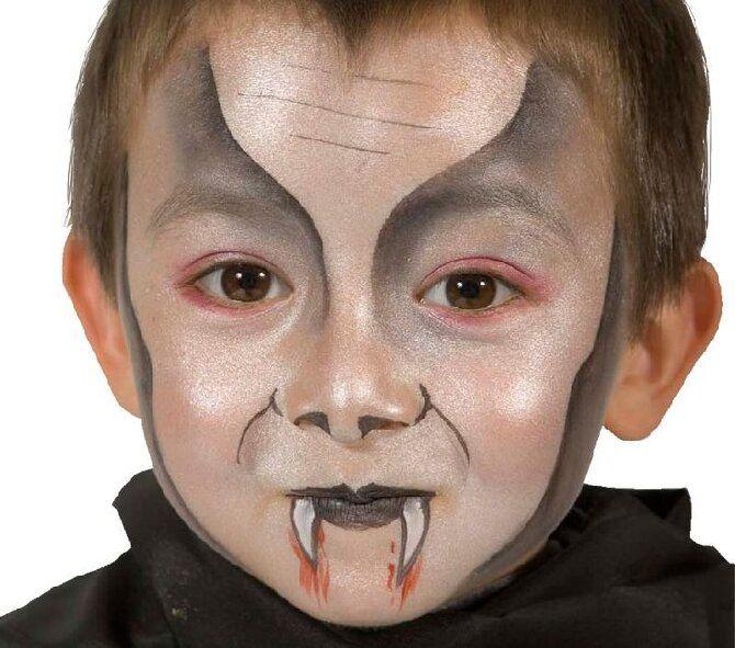 До последней капли крови: самый крутой макияж вампира на Хэллоуин, который можно легко сделать дома – секреты, идеи, фото 35