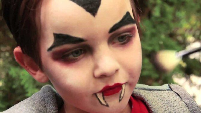 До последней капли крови: самый крутой макияж вампира на Хэллоуин, который можно легко сделать дома – секреты, идеи, фото 36