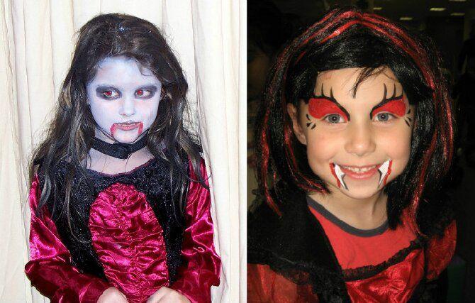 До последней капли крови: самый крутой макияж вампира на Хэллоуин, который можно легко сделать дома – секреты, идеи, фото 37