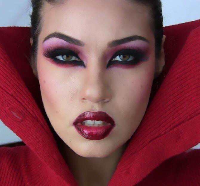 До последней капли крови: самый крутой макияж вампира на Хэллоуин, который можно легко сделать дома – секреты, идеи, фото 4