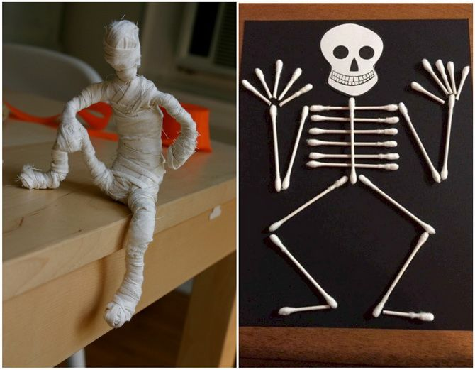 Мастерим поделки на Хэллоуин: ТОП-30 идей для праздничного креатива своими руками 11