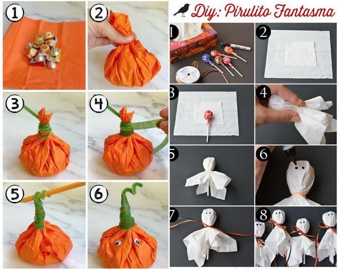 Мастерим поделки на Хэллоуин: ТОП-30 идей для праздничного креатива своими руками 28