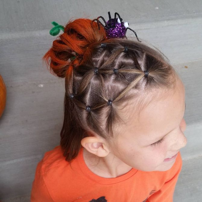 Прически на Хэллоуин 2020: креативные варианты для женщин, мужчин и детей 2