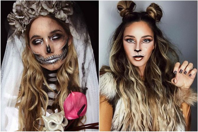 Прически на Хэллоуин 2020: креативные варианты для женщин, мужчин и детей 22