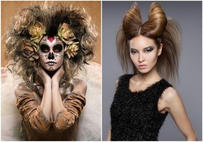 Прически на Хэллоуин 2020: креативные варианты для женщин, мужчин и детей 33