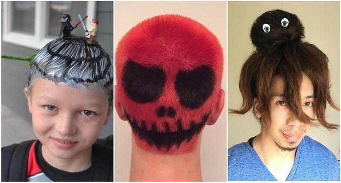 Прически на Хэллоуин 2020: креативные варианты для женщин, мужчин и детей 37