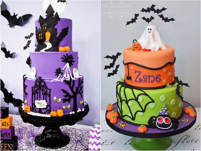Торт на Хэллоуин: варианты украшения «ужасного» десерта 1
