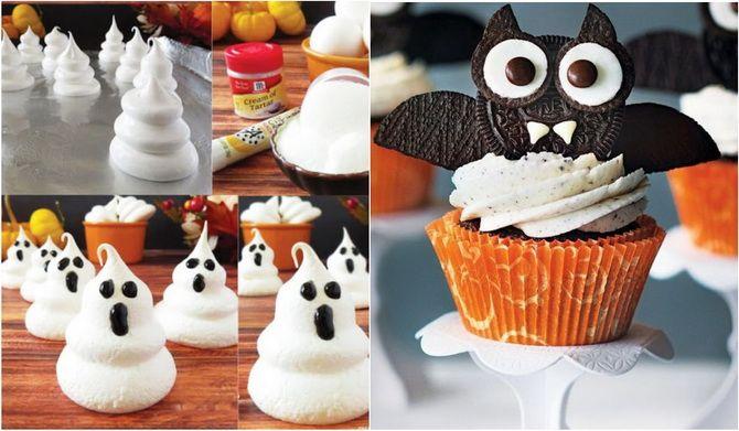 Торт на Хэллоуин: варианты украшения «ужасного» десерта 10
