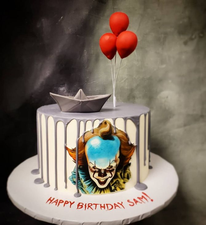 Торт на Хэллоуин: варианты украшения «ужасного» десерта 12