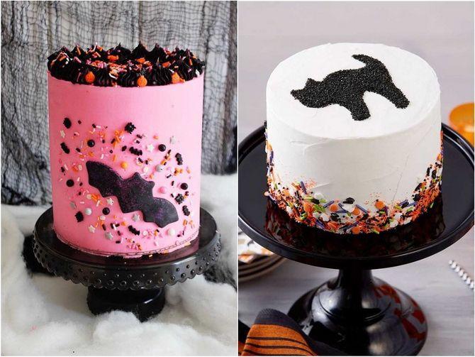 Торт на Хэллоуин: варианты украшения «ужасного» десерта 14