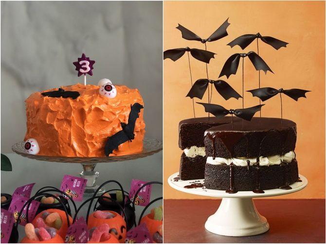 Торт на Хэллоуин: варианты украшения «ужасного» десерта 16