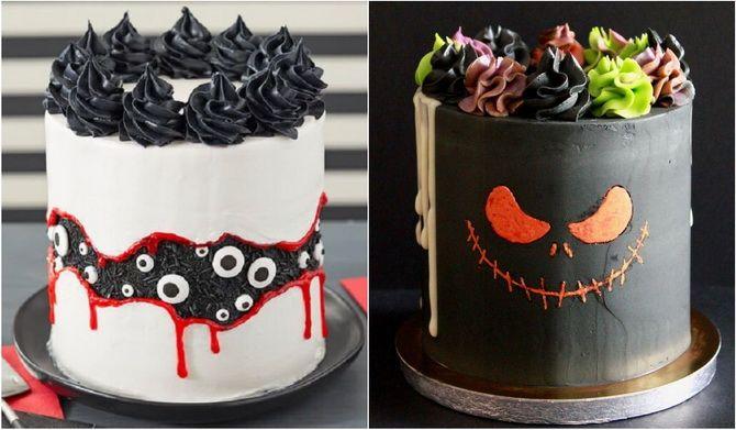 Торт на Хэллоуин: варианты украшения «ужасного» десерта 19