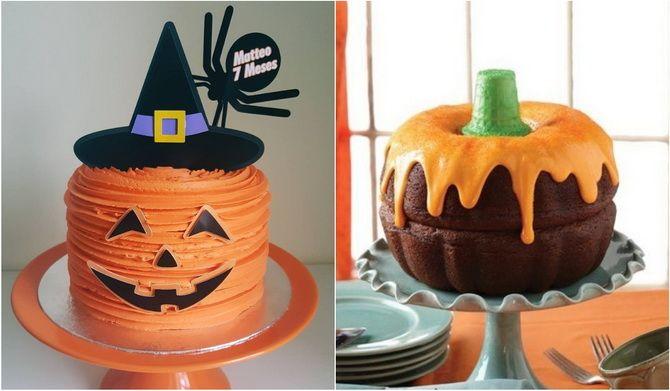 Торт на Хэллоуин: варианты украшения «ужасного» десерта 22