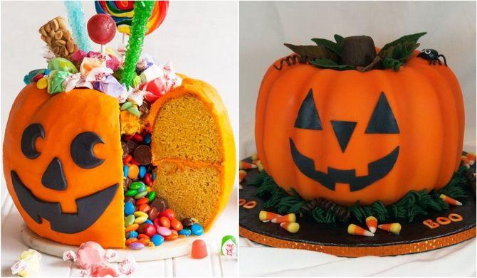 Торт на Хэллоуин: варианты украшения «ужасного» десерта 23