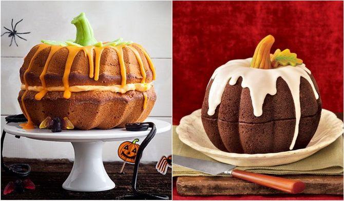 Торт на Хэллоуин: варианты украшения «ужасного» десерта 25