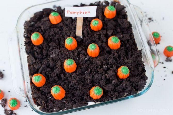 Торт на Хэллоуин: варианты украшения «ужасного» десерта 43