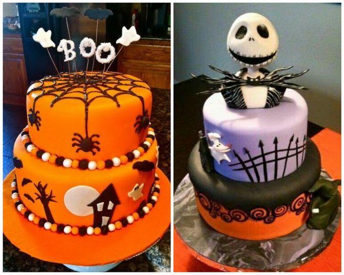 Торт на Хэллоуин: варианты украшения «ужасного» десерта 49