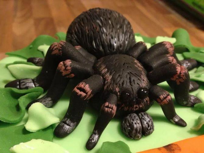 Торт на Хэллоуин: варианты украшения «ужасного» десерта 52