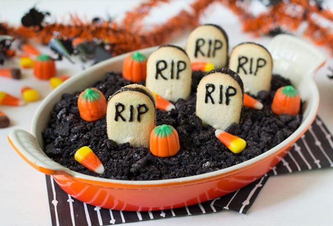 Торт на Хэллоуин: варианты украшения «ужасного» десерта 53
