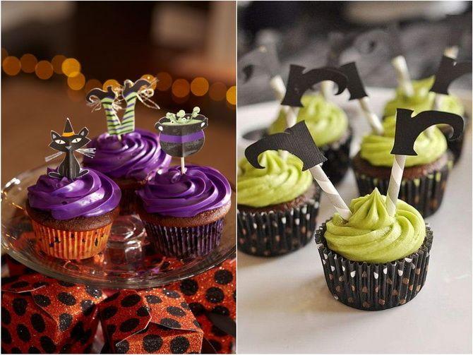 Торт на Хэллоуин: варианты украшения «ужасного» десерта 6