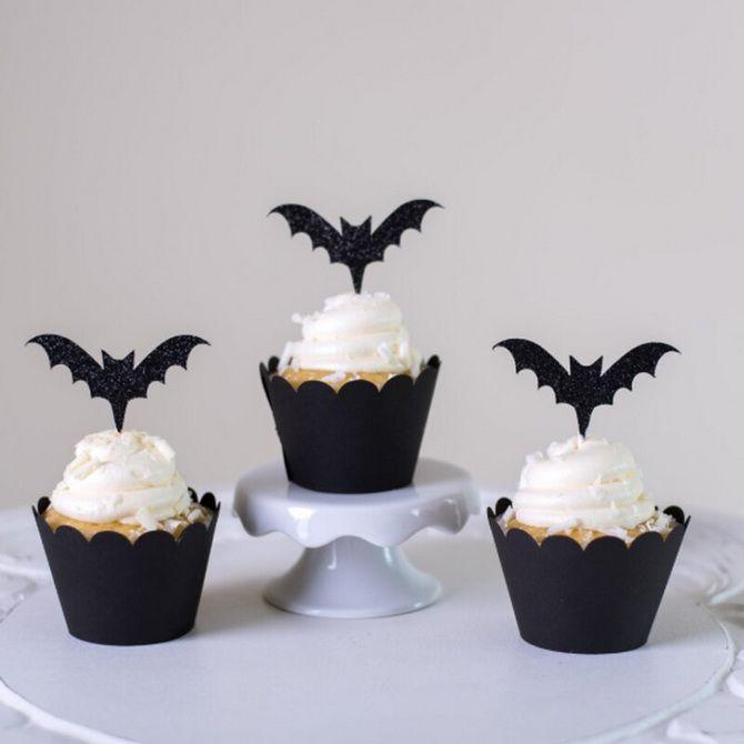 Торт на Хэллоуин: варианты украшения «ужасного» десерта 9