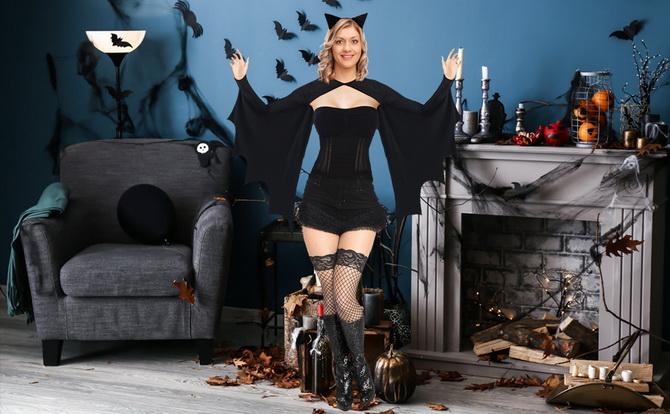 Batman возвращается: как сделать костюм летучей мыши на Хэллоуин 27