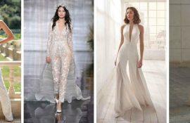 Весільні комбінезони – кращі ідеї для сміливих наречених