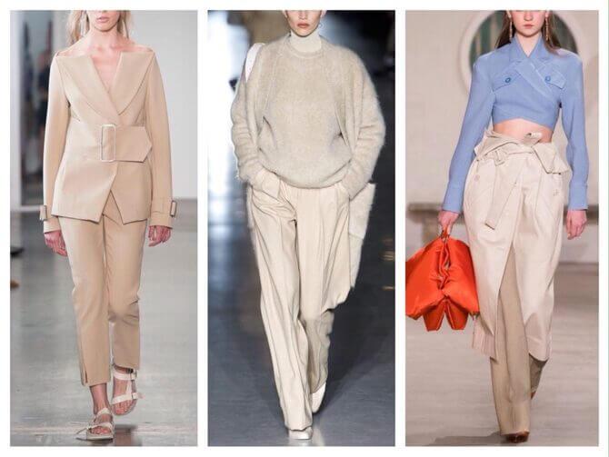 Бежеві штани для жінок – з чим поєднувати 2