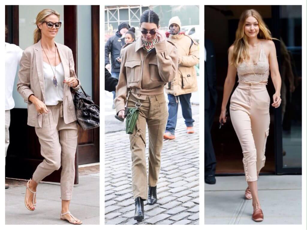 Бежеві штани для жінок – з чим поєднувати 25