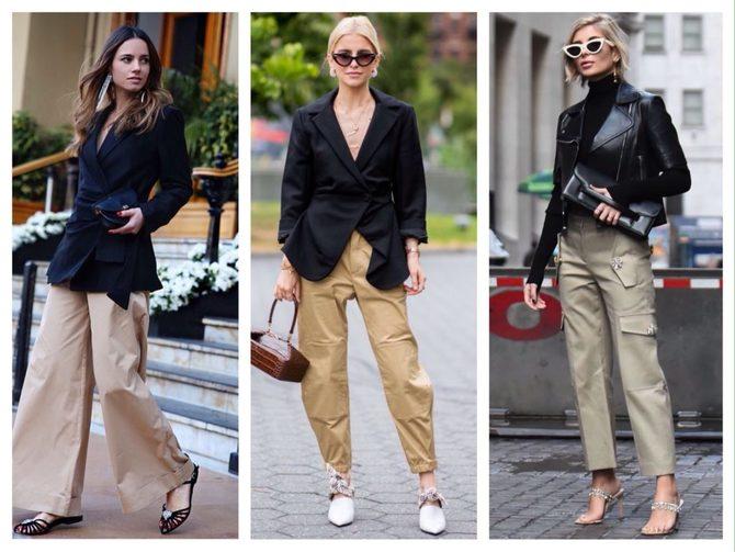 Бежеві штани для жінок – з чим поєднувати 27