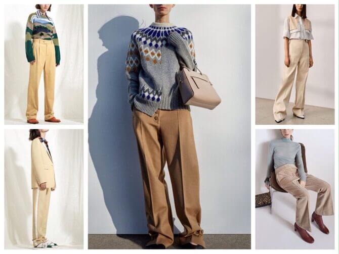 Бежеві штани для жінок – з чим поєднувати 4