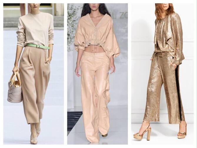 Бежеві штани для жінок – з чим поєднувати 5