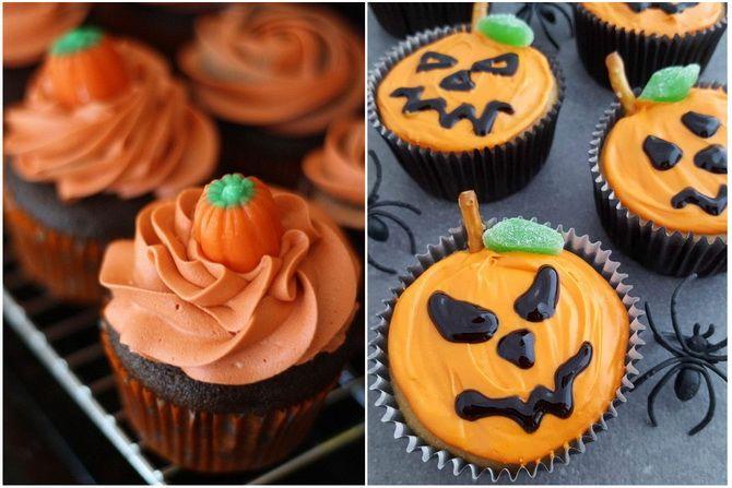 Капкейки на Хэллоуин: варианты декора для ужасно популярного лакомства 11