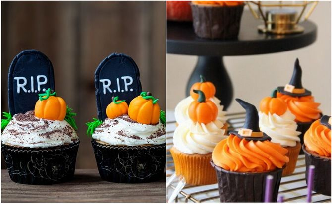 Капкейки на Хэллоуин: варианты декора для ужасно популярного лакомства 12