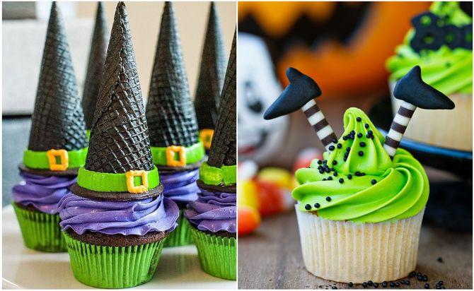 Капкейки на Хэллоуин: варианты декора для ужасно популярного лакомства 13