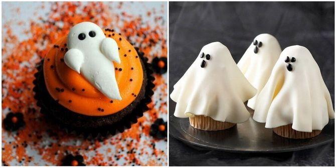 Капкейки на Хэллоуин: варианты декора для ужасно популярного лакомства 18
