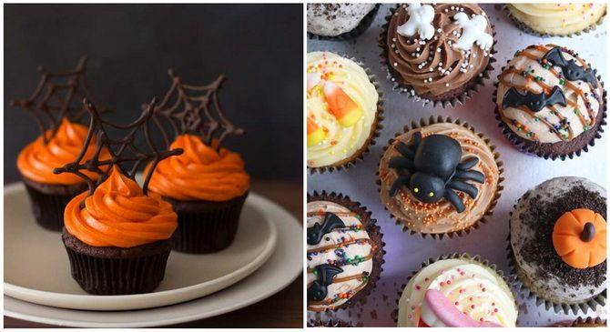 Капкейки на Хэллоуин: варианты декора для ужасно популярного лакомства 23