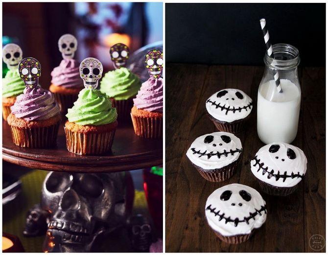 Капкейки на Хэллоуин: варианты декора для ужасно популярного лакомства 31