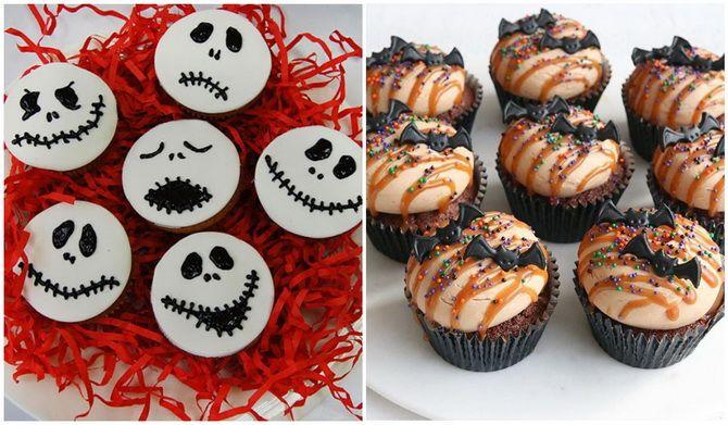 Капкейки на Хэллоуин: варианты декора для ужасно популярного лакомства 32
