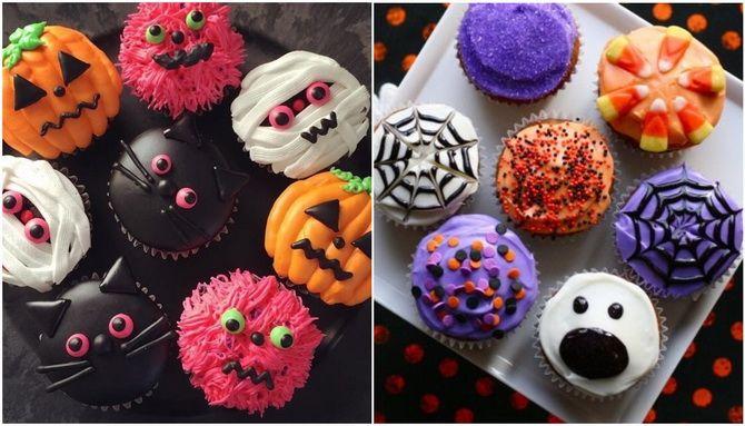 Капкейки на Хэллоуин: варианты декора для ужасно популярного лакомства 3