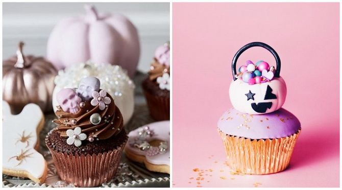 Капкейки на Хэллоуин: варианты декора для ужасно популярного лакомства 38