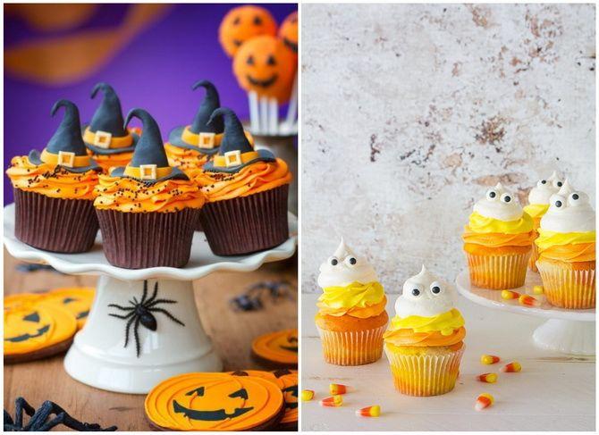 Капкейки на Хэллоуин: варианты декора для ужасно популярного лакомства 41