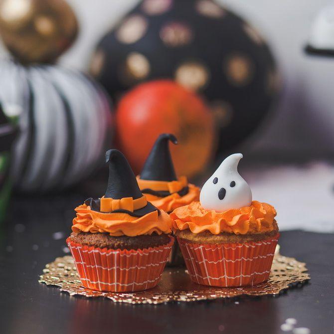 Капкейки на Хэллоуин: варианты декора для ужасно популярного лакомства 5